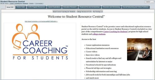 SRC Welcome Page