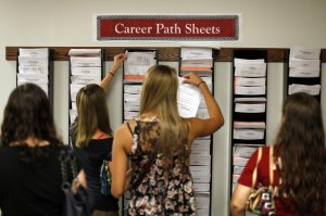 College-Students-Following-The-Career-Path-Sheets